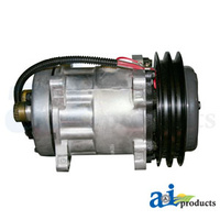 Compressor - Sanden Style including Clutch Assembly