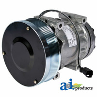 Air Conditioner with Clutch Compressor