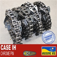 AUSDRIVE A557 Case IH 112L 42B 7120/7230/8120/9120 Chrome Pin Chains Only